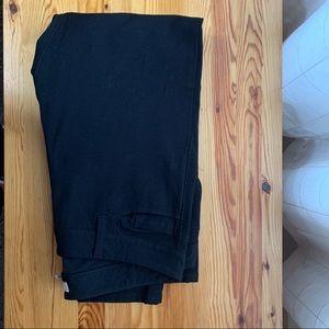 Banana Republic Petite Black Sloan Pants